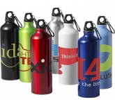 Nomina 770ml Karabiner Aluminium Drinking Bottle  by Gopromotional - we get your brand noticed!