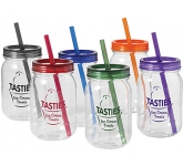 Viera 750ml Mason Jar  by Gopromotional - we get your brand noticed!