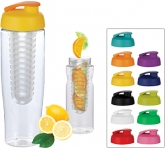H20 Marathon 700ml Flip Top Fruit Infuser Sports Bottle