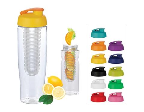 H20 Marathon 700ml Flip Top Fruit Infuser Sports Bottle