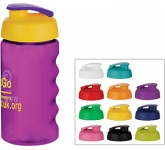 H20 Triathlon 500ml Flip Top Printed Water Bottle