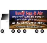 Lorry Shaped Fridge Magnets - Small