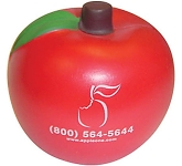 Apple Stress Toy  by Gopromotional - we get your brand noticed!