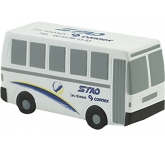 Bus Stress Toy  by Gopromotional - we get your brand noticed!
