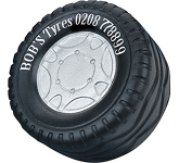 Tyre Stress Toy  by Gopromotional - we get your brand noticed!