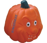 Smiling Pumpkin Stress Toy  by Gopromotional - we get your brand noticed!
