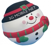 Snowman Stress Toy  by Gopromotional - we get your brand noticed!