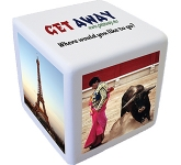 Large Cube Stress Toy  by Gopromotional - we get your brand noticed!