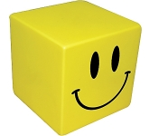 Smiley Cube Stress Toy  by Gopromotional - we get your brand noticed!