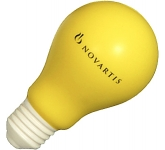 Light Bulb Stress Toy  by Gopromotional - we get your brand noticed!