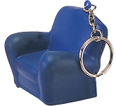 Armchair Keyring Stress Toy