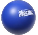Premium 70mm Round Branded Stress Ball  by Gopromotional - we get your brand noticed!