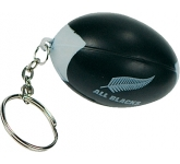 Rugby Ball Keyring Stress Toy  by Gopromotional - we get your brand noticed!