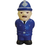 Policeman Stress Toy  by Gopromotional - we get your brand noticed!