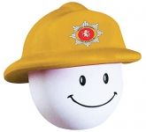 Fireman Mad Hat Stress Toy