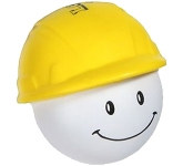 Hard Hat Man Stress Toy