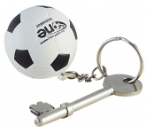 Football Keyring Stress Toy  by Gopromotional - we get your brand noticed!