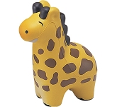 Ralph The Giraffe Stress Toy  by Gopromotional - we get your brand noticed!