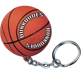 Basketball Keyring Stress Toy  by Gopromotional - we get your brand noticed!