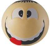 Smiley Man Stress Ball  by Gopromotional - we get your brand noticed!
