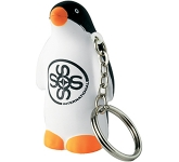 Penguin Keyring Stress Toy