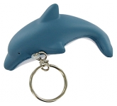 Dolphin Keyring Stress Toy  by Gopromotional - we get your brand noticed!
