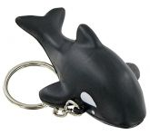 Killer Whale Keyring Stress Toy