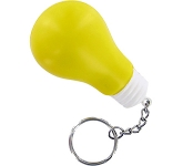 Light Bulb Keyring Stress Toy