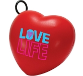 Vibrating Heart Stress Toy  by Gopromotional - we get your brand noticed!