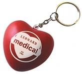 Love Heart Keyring Stress Toy  by Gopromotional - we get your brand noticed!