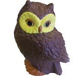 Owl Stress Toy  by Gopromotional - we get your brand noticed!