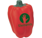 Red Pepper Stress Toy  by Gopromotional - we get your brand noticed!