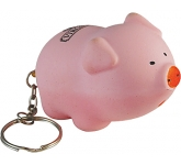 Porky Pig Keyring Stress Toy  by Gopromotional - we get your brand noticed!