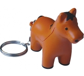 Horse Keyring Stress Toy  by Gopromotional - we get your brand noticed!