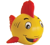 Fun Fish Stress Toy  by Gopromotional - we get your brand noticed!