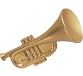 Trumpet Stress Toy  by Gopromotional - we get your brand noticed!