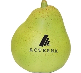 Pear Stress Toy  by Gopromotional - we get your brand noticed!