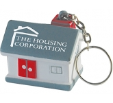 House Keyring Stress Toy