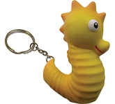 Seahorse Keyring Stress Toy  by Gopromotional - we get your brand noticed!