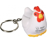 Chicken Keyring Stress Toy