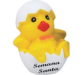 Easter Chick Stress Toy  by Gopromotional - we get your brand noticed!