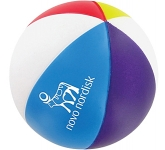 Beach Ball Branded Stress Ball