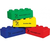 Play Brick Stress Toy  by Gopromotional - we get your brand noticed!