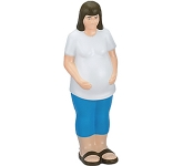 Pregnant Woman Stress Toy