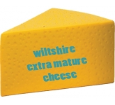 Cheese Stress Toy  by Gopromotional - we get your brand noticed!