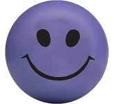 Smiley Face Stress Ball  by Gopromotional - we get your brand noticed!