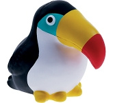 Toucan Stress Toy  by Gopromotional - we get your brand noticed!