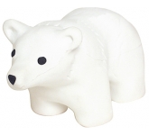 Polar Bear Stress Toy  by Gopromotional - we get your brand noticed!