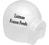 Igloo Stress Toy  by Gopromotional - we get your brand noticed!