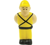 Construction Worker Stress Toy  by Gopromotional - we get your brand noticed!